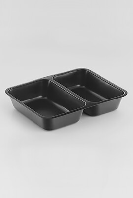 Food Packaging Trays - 8b (8 x 2 section)
